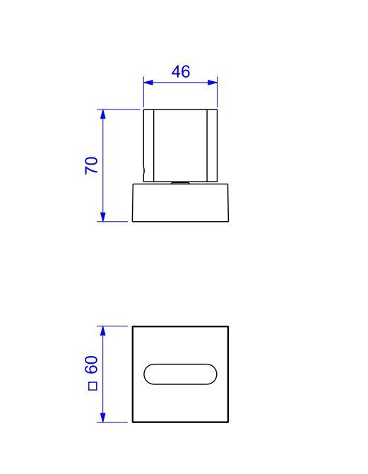 Acabamento Deca Para Registro de Pressão Polo com mecanismo 4916.C33.PQ Cromado  - Casa Mattos