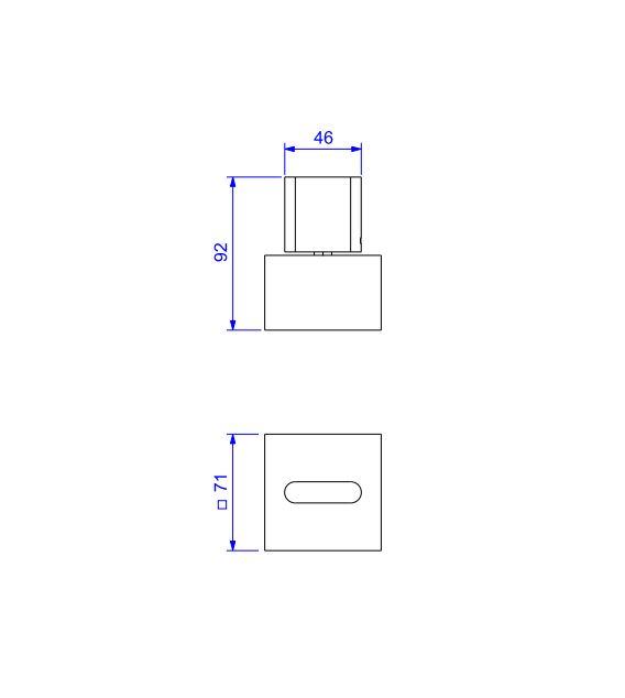 "Acabamento Deca Para Registro Polo 1.1/4"" e 1.1/2""   4900.C33.GD Cromado  - Casa Mattos"