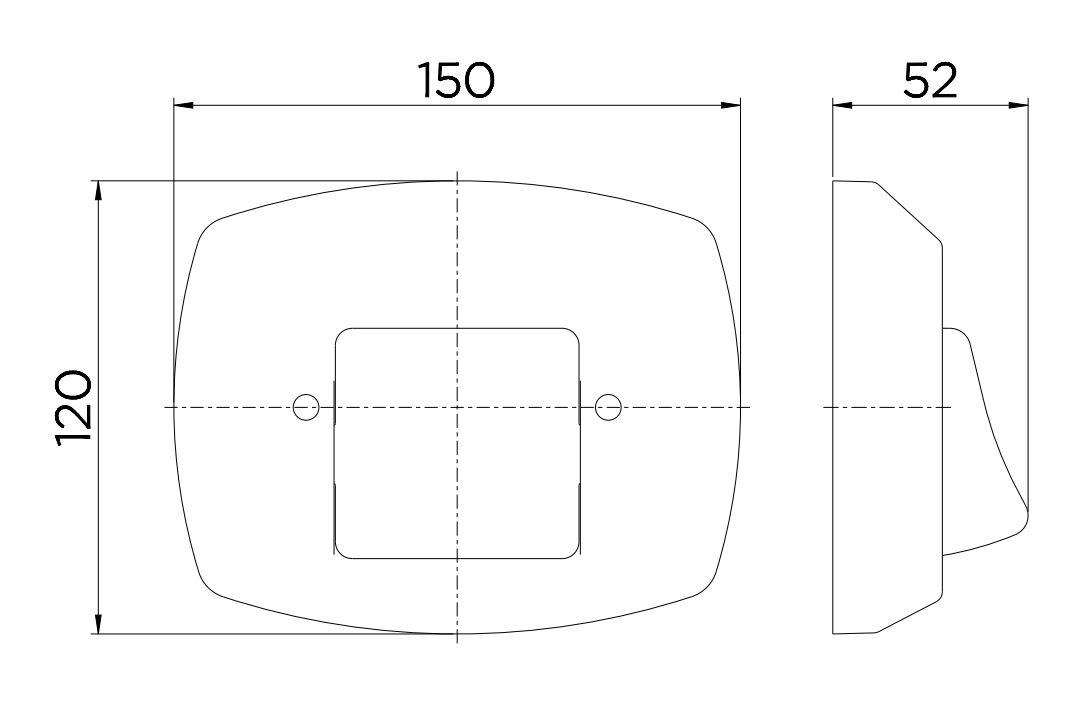 Acabamento Docol para Válvula de Descarga Clássica 01500006 Chrome  - Casa Mattos