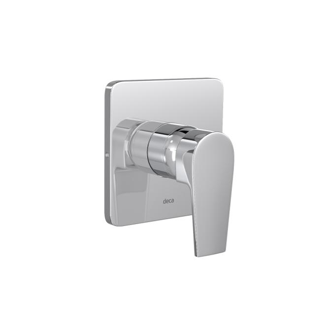 Acabamento Monocomando 4993.C26.CHU Para Chuveiro De Baixa/Alta Pressão Level - Cromado - Deca