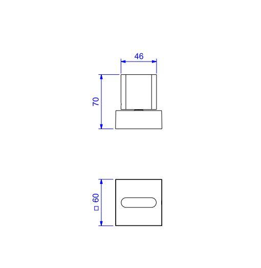 """Acabamento para Registro Deca Polo de Pressão 1/2"""" e 3/4"""" com 1/2 volta 4916.GL33.PQ.RD Red Gold  - Casa Mattos"""