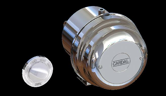 Aquecedor  Cardal Super Hidro 2, 8200W 220V