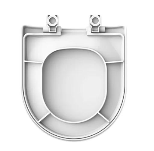 Assento SoftClose PP Rivera/Smart - Branco  - Casa Mattos
