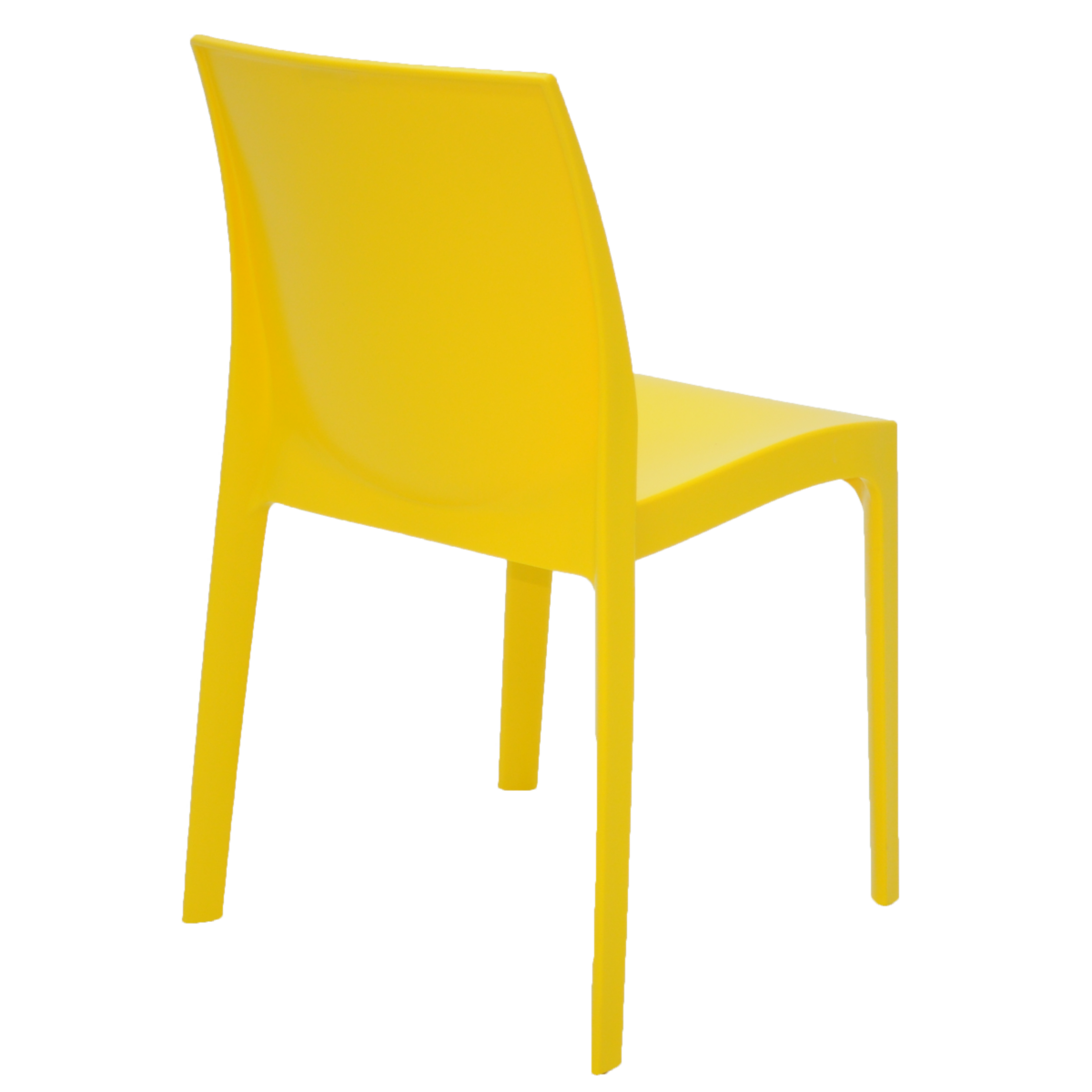 Cadeira Tramontina Alice Amarelo 92037/000 Conjunto 4 peças  - Casa Mattos