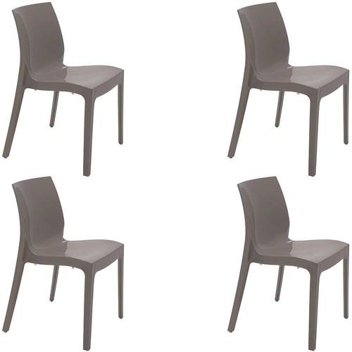 Cadeira Tramontina Alice Camurça 92037/210 Conjunto C/4