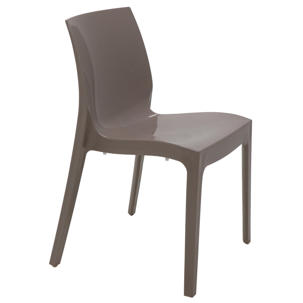 Cadeira Tramontina Alice Camurça 92037/210 Conjunto  4 peças  - Casa Mattos