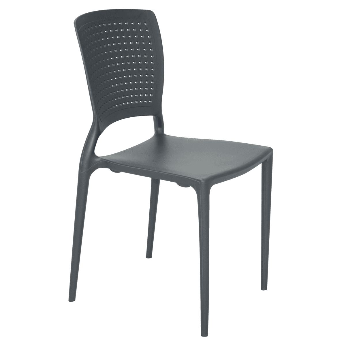 Cadeira Tramontina Safira Summa Grafite 92048/007 1 Peça  - Casa Mattos