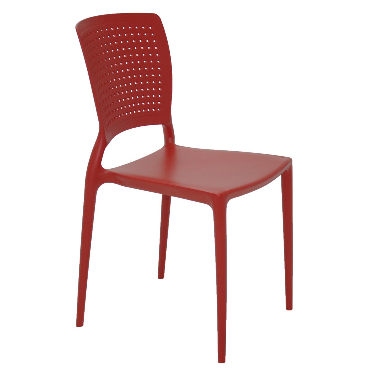 Cadeira Tramontina Safira Vermelho 92048/040 1 Peça