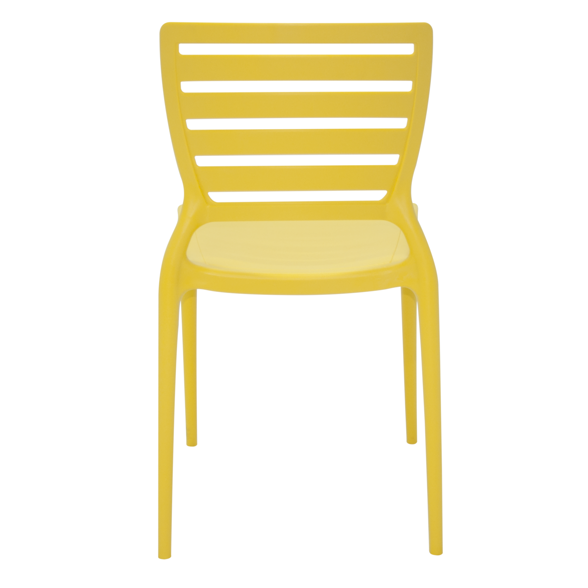 Cadeira Tramontina Sofia Summa 92237/000 Amarelo Conjunto 4 peças  - Casa Mattos