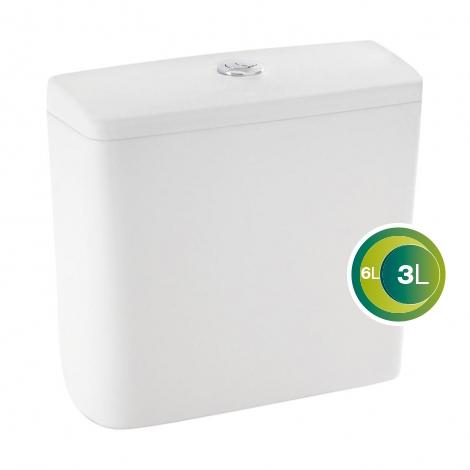 Caixa Acoplada Celite City Ecoflush  3/6 Litros  Branca  - Casa Mattos