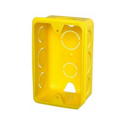Caixa de Luz Krona Plastica Amarela