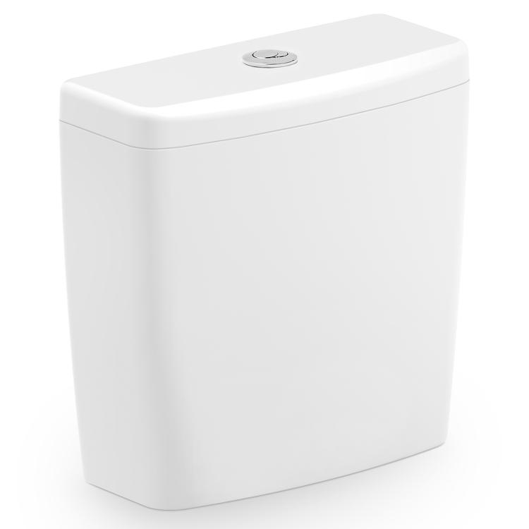 Caixa para Acoplar Incepa Art 50560 Ecoflush 3/6 litros Branca  - Casa Mattos