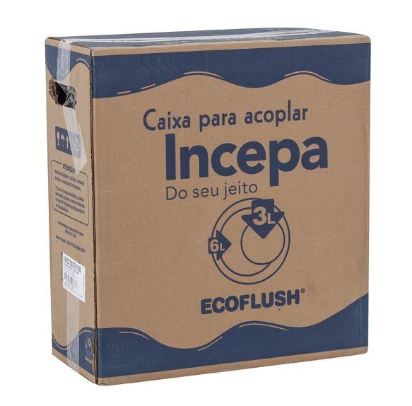Caixa para Acoplar Incepa Ecoflush Boss 89570 Branco  - Casa Mattos