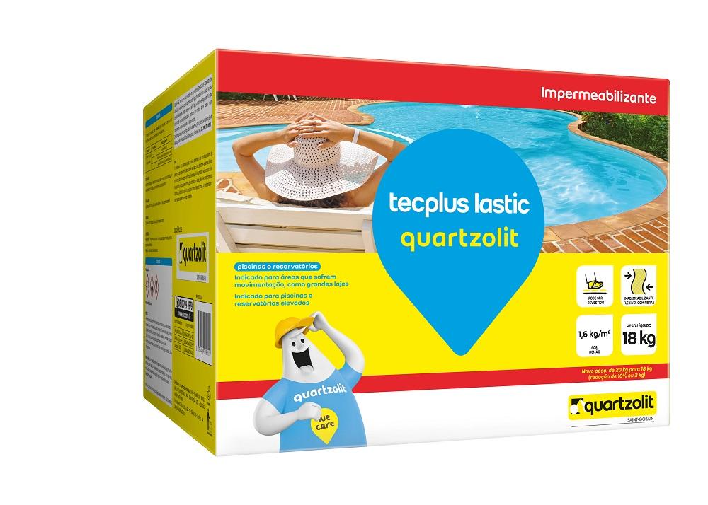 Caixa Tecplus Lastic 18Kg Quartzolit