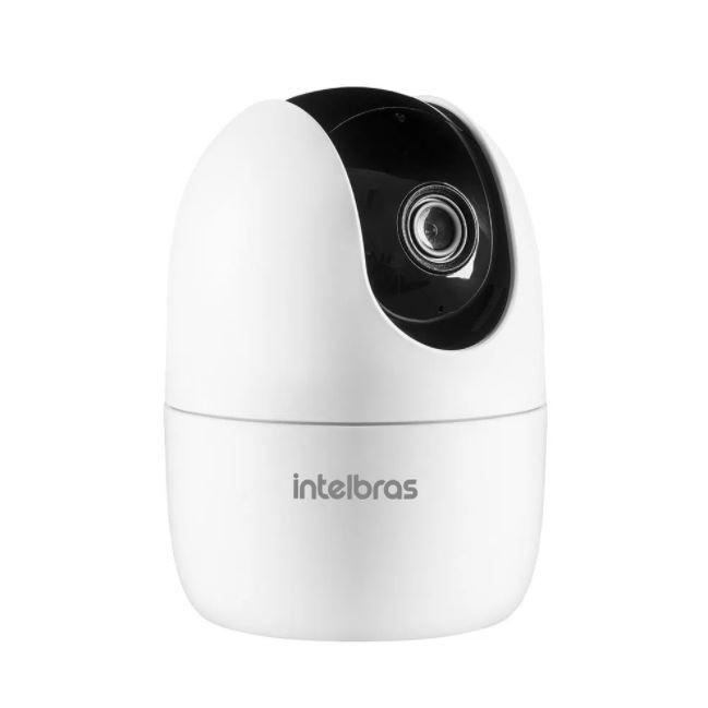Câmera de Vídeo Intelbras Interna Inteligente iM4 Wi-Fi Full HD 360º  - Casa Mattos