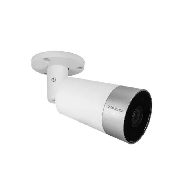 Câmera de Vídeo Intelbras Interna e Externa Inteligente iM5 Wi-Fi Full HD 360º  - Casa Mattos