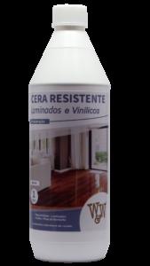 Cera Resistente W&W de Laminados e Vinílicos 1 Litro Brilhante