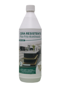 Cera Resistente W&W de Piso Frio 1 Litro Acetinado
