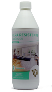 Cera Resistente W&W para Pisos de Madeira 1 Litro Acetinada