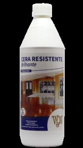 Cera Resistente W&W para Pisos de Madeira 1 Litro Brilhante