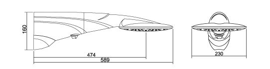 Chuveiro Lorenzetti Advanced Turbo Eletrônica 220V/7500W  - Casa Mattos