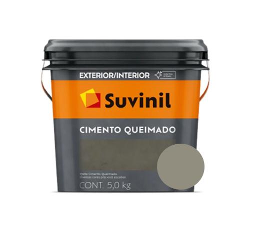 Cimento Queimado Suvinil Balde 5Kg Cor Avenida Expressa