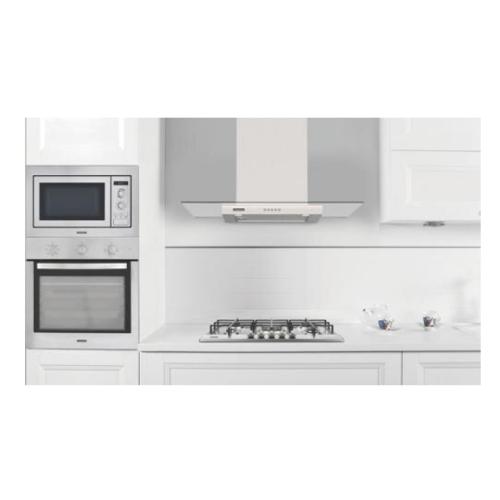 Coifa Tramontina Basic 90 Inox/Vidro 127V 94811/005     - Casa Mattos