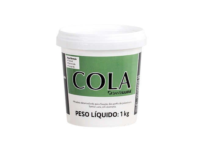 Cola para Rodapés Santa Luzia 1kg