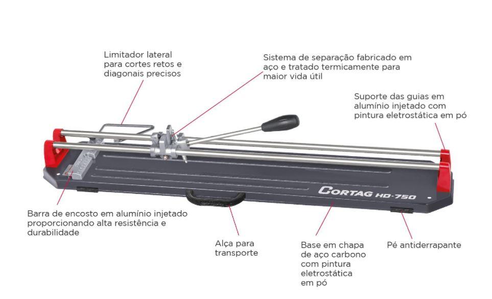 Cortador Cortag Profissional HD-1000  - Casa Mattos