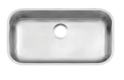 Cuba de embutir Tramontina Lavínia 56 BL em aço inox acetinado 56x34cm