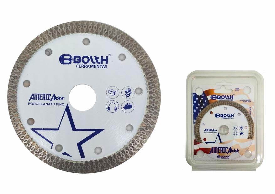 Disco America Bolth Super Extra Fino para Porcelanato  - Casa Mattos