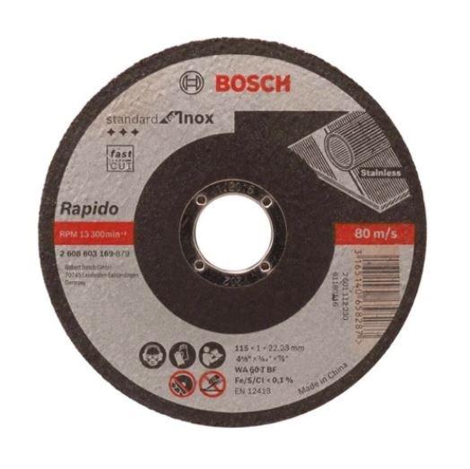 Disco de Corte Para Inox 115mm Grão 60  - Casa Mattos