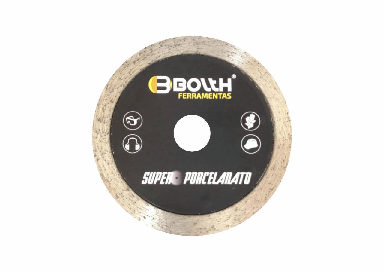 Disco Bolth Super Porcelanato Preto