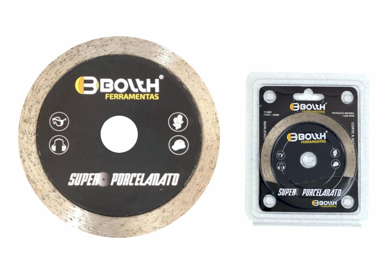 Disco Bolth Super Porcelanato Preto  - Casa Mattos