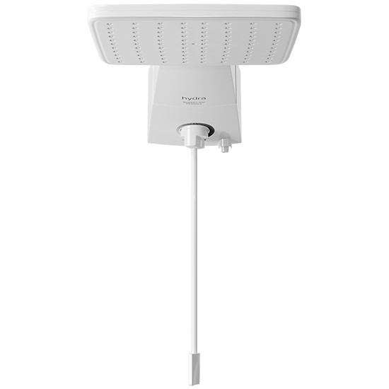 Ducha Hydra Quadratta Max Eletrônica DPQD.EM.551BR 127V/5500W Branca  - Casa Mattos