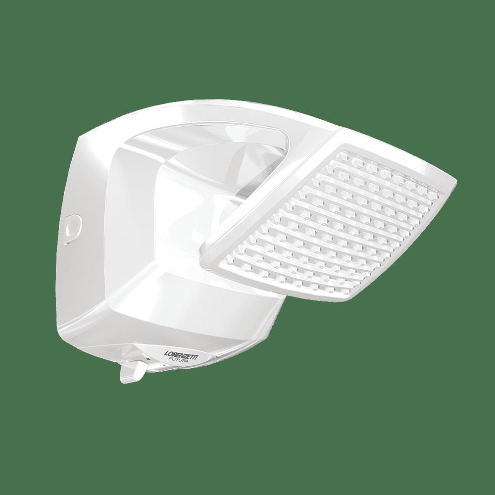Ducha Lorenzetti Futura Multitemperaturas 220V/6800W Branco