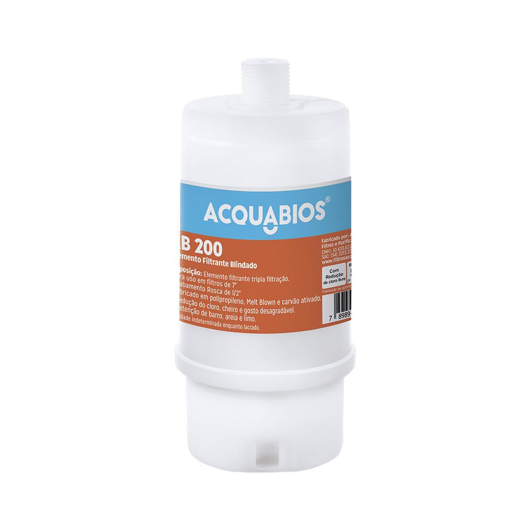 Elemento Filtrante Blindado AB200 Acquabios  - Casa Mattos