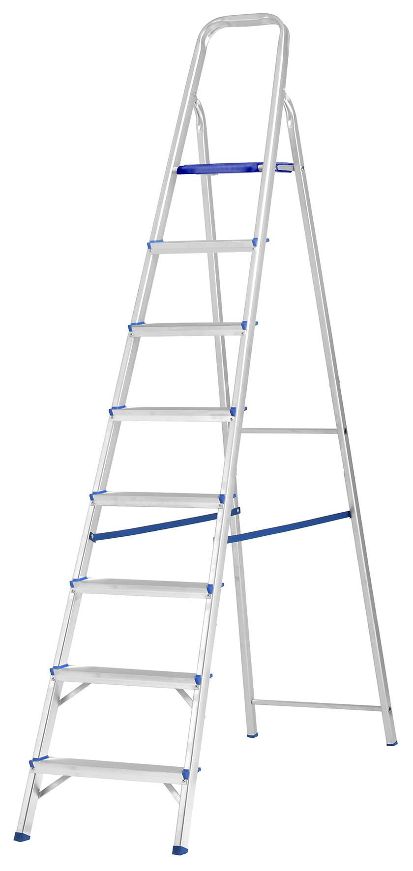 Escada SBA Prima  08 Degraus E1208 Alumínio