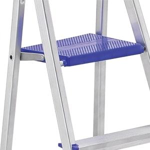Escada SBA Prima  08 Degraus E1208 Alumínio  - Casa Mattos
