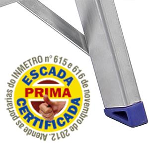 Escada SBA Prima Doméstica com 6 Degraus E1206  - Casa Mattos