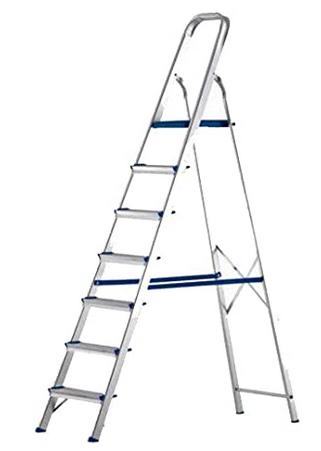 Escada Alumínio 7 Degraus E1207