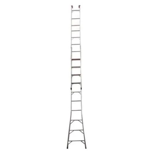 Escada SBA de Abrir Extensiva 11 Degraus P311 Alumínio  - Casa Mattos