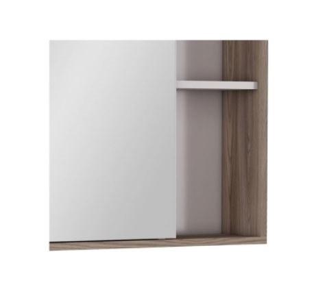 Espelheira Caeté 60Cm - Branco/Tamarindo  - Casa Mattos