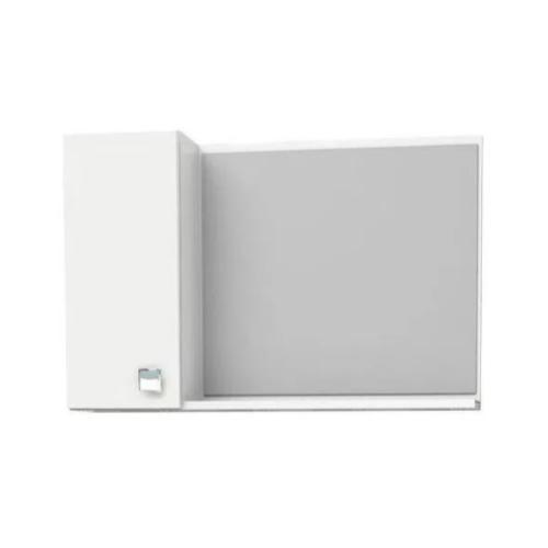 Espelheira para Banheiro Moara 60Cm - Branca  - Casa Mattos