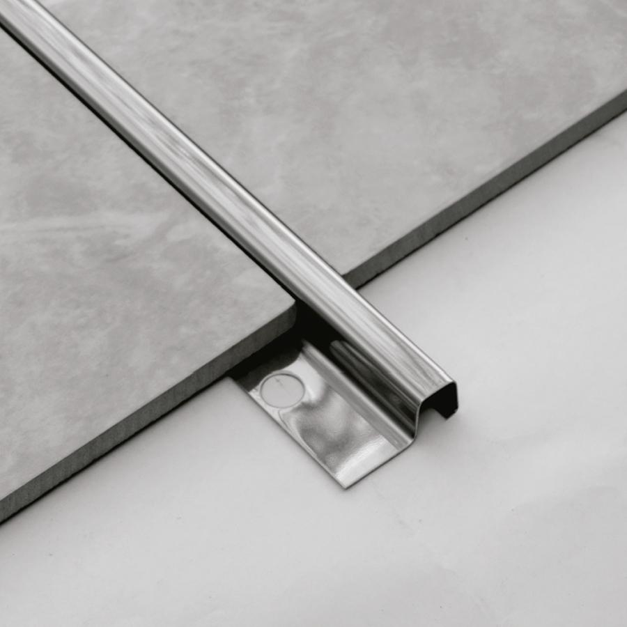 Filete P Mozaik FIP12010 em Aço Inox Polido 12,5x12,5mm  - Casa Mattos