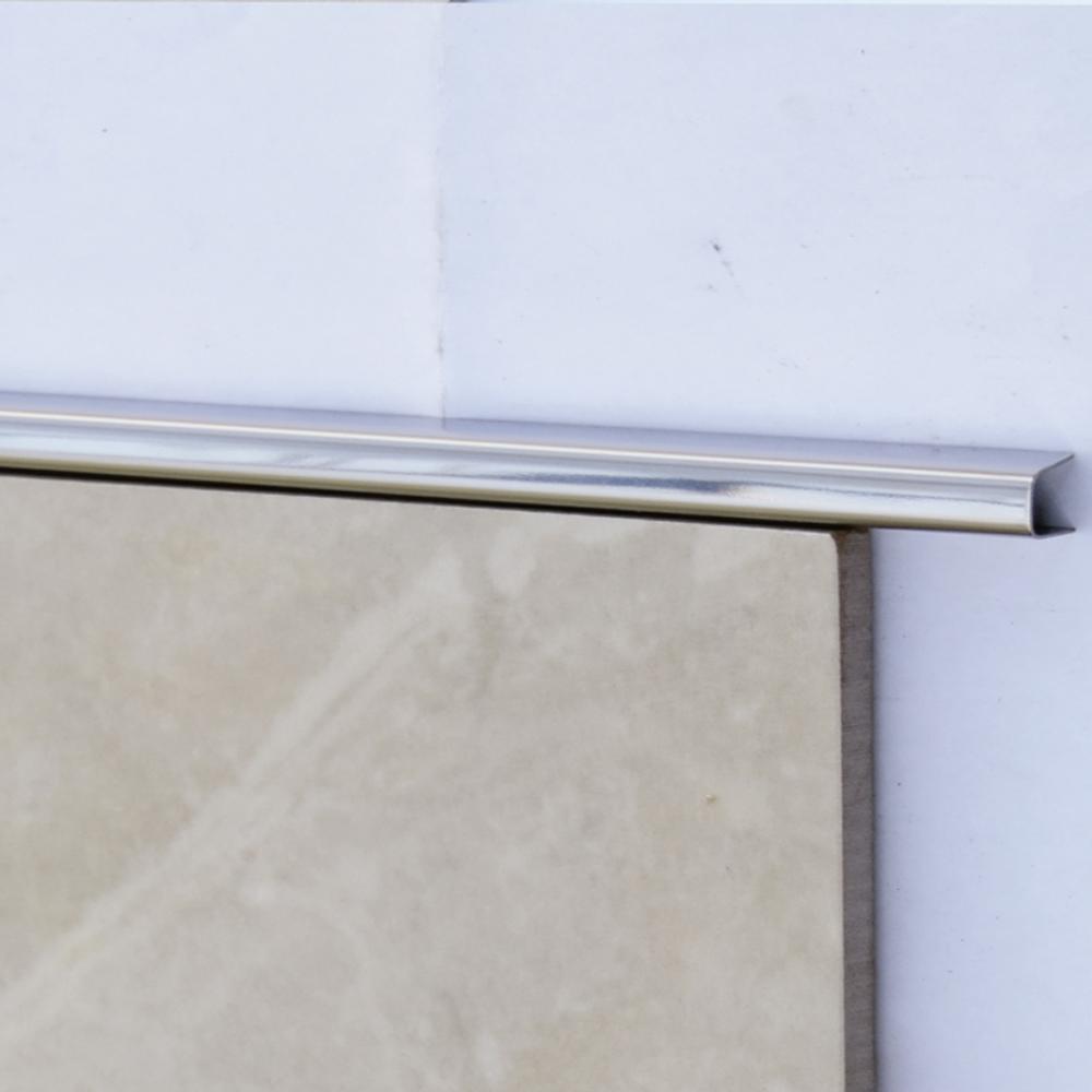 Filete PP1 Mozaik PP112010 em Aço Inox Polido 10x10cm  - Casa Mattos