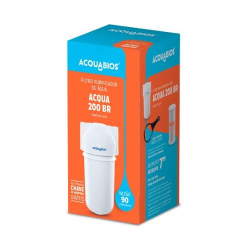 Filtro Acqua 200 - Branco