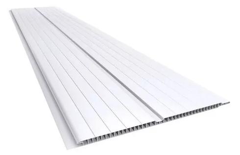 Forro PVC Fortlev 200x8,0mm 4 Metros Branco