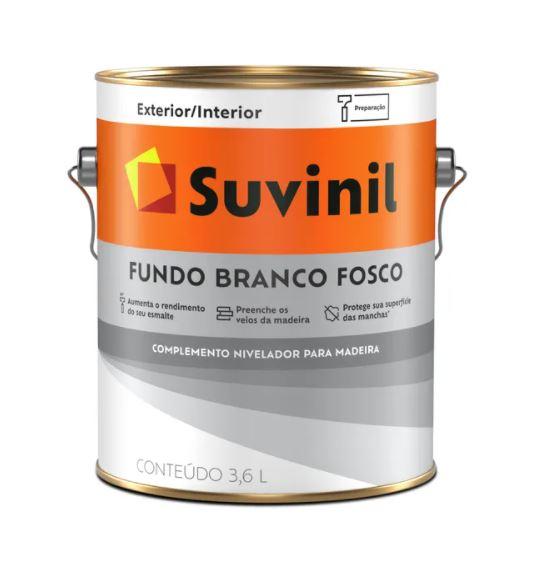 Fundo Branco Fosco Suvinil Galão 3,6L