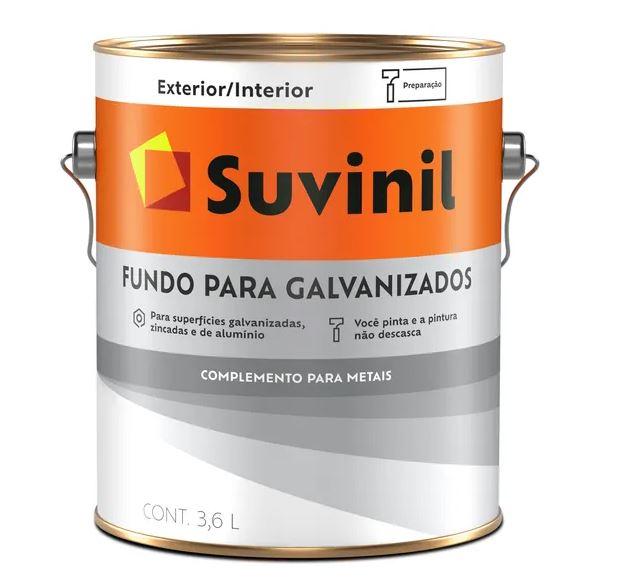 Fundo para Galvanizados Suvinil Galão 3,6L  - Casa Mattos